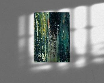 Abstrakte Komposition 948 von Angel Estevez