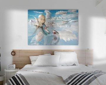Corona droom 2 van Dray van Beeck
