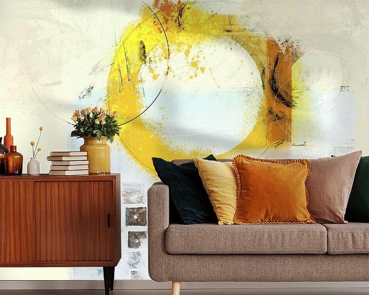 Sfeerimpressie behang: round'about van Dray van Beeck