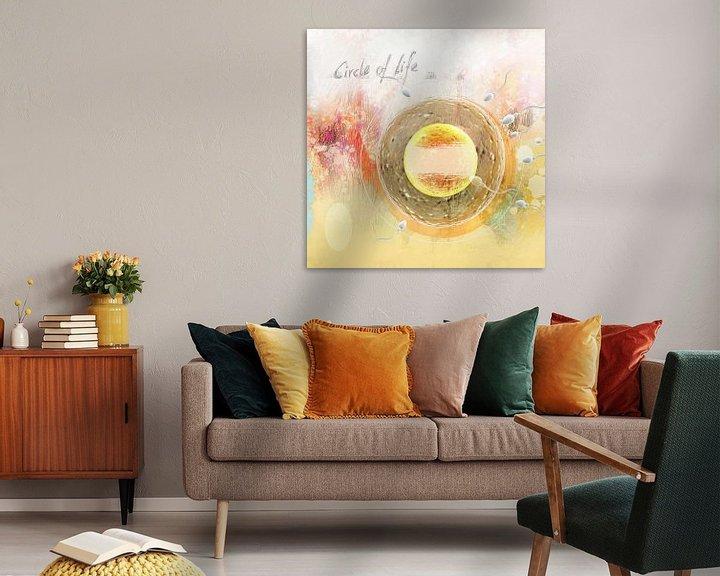 Sfeerimpressie: the circle of life van Dray van Beeck