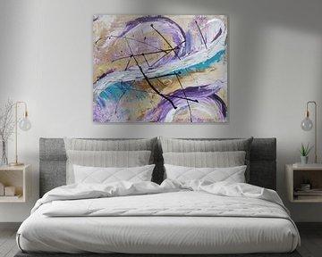 Abstrakte Kunst - Fly Of The Phoenix von Patricia Piotrak