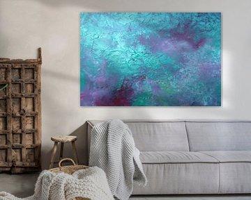 Abstrakte Kunst - Deep Blue Sea
