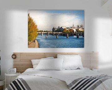 Rivier de Seine in hartje Parijs van Ivonne Wierink