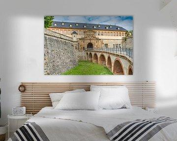 Barocke Zitadelle Petersberg in Erfurt, Deutschland von Gunter Kirsch