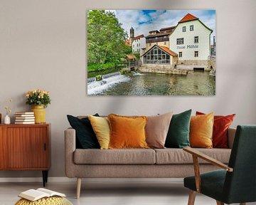 Nieuwe molen in Erfurt, Duitsland van Gunter Kirsch