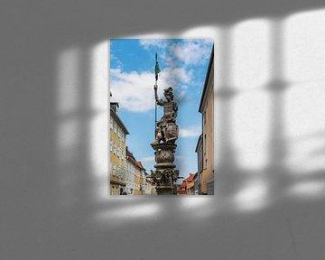De Georgsbrunnen is gelegen in Görlitz, Duitsland. van Gunter Kirsch