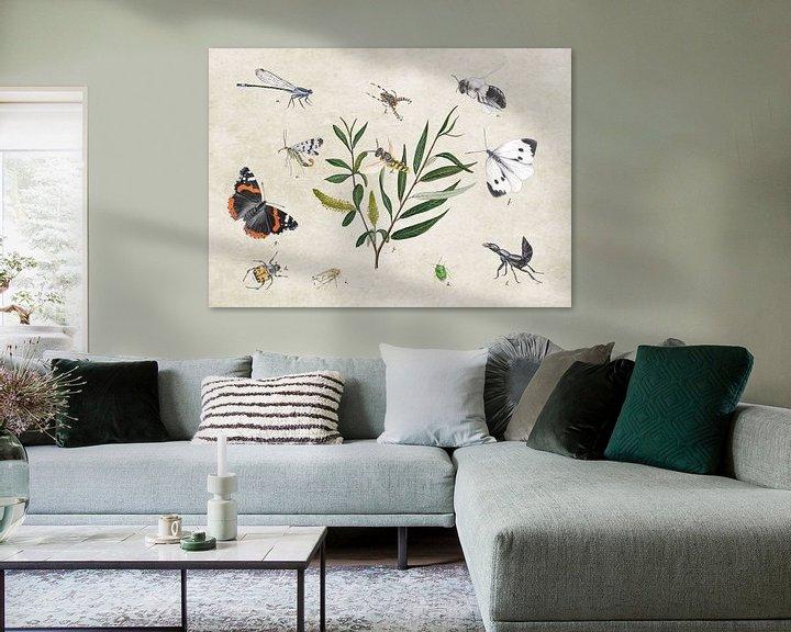 Sfeerimpressie: Schietwilg met insecten van Jasper de Ruiter