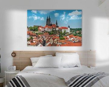 La vieille ville de Meißen, Allemagne sur Gunter Kirsch