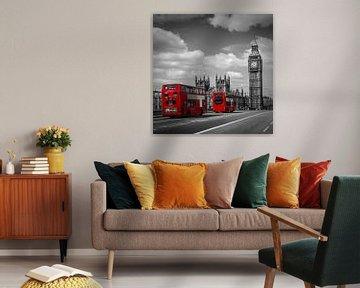 Typisch Londen van Melanie Viola
