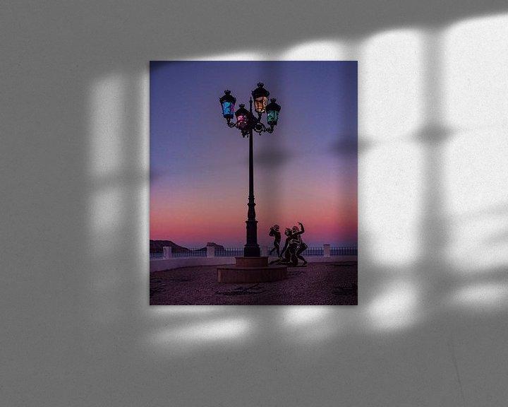 Sfeerimpressie: Zonsondergang Altea van Jellie van Althuis