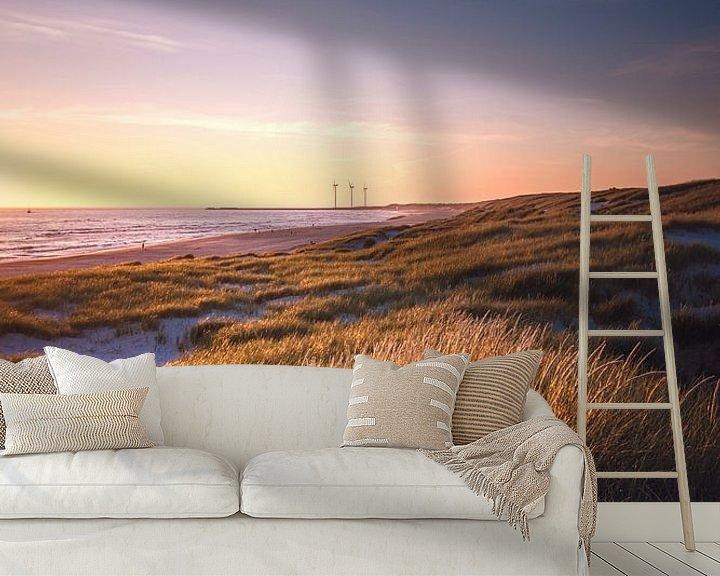Impression: Paysage de dunes près de Hvide Sande sur Florian Kunde