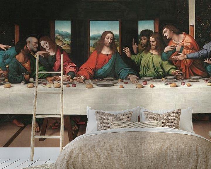 Beispiel fototapete: Das letzte Abendmahl, Giampietrino, Giovanni Antonio Boltraffio