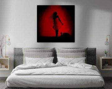 Rood/Zwart - Red/Black von Christoph Van Daele