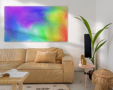 Abstrakter Regenbogen von Maurice Dawson