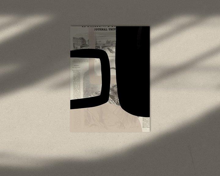 Sfeerimpressie: Abstract Papier II van YOPIE illustraties