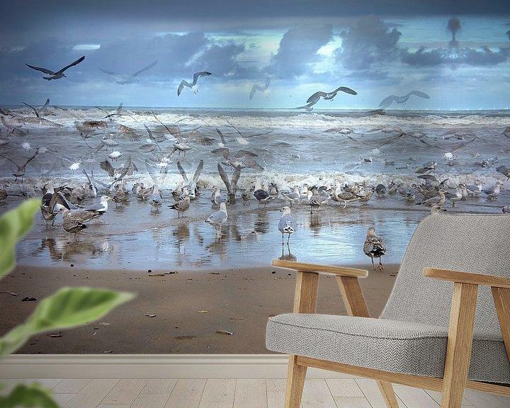 Impression: Les mouettes et les anges sur Geert van Kuyck