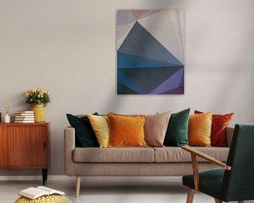 Abstracte samenstelling 937 van Angel Estevez