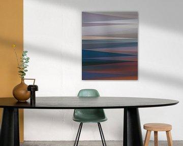 Abstracte samenstelling930 van Angel Estevez
