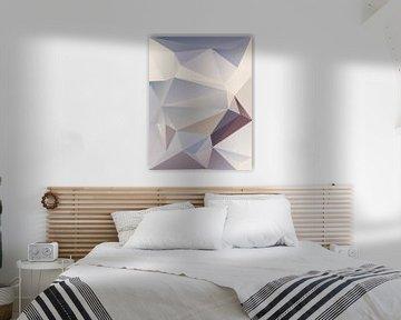 Abstracte samenstelling 925 van Angel Estevez