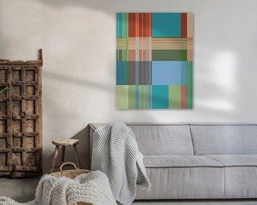 Abstracte samenstelling 920 van Angel Estevez