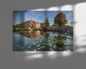 Stadsgezicht, Leiden van Carla Matthee