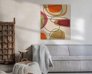 Abstracte samenstelling 851 van Angel Estevez