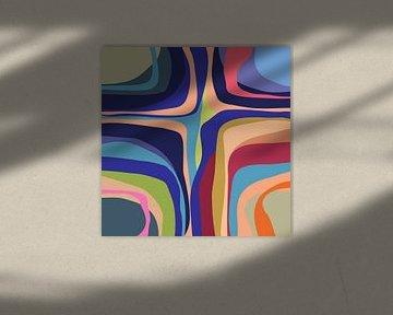 Abstracte samenstelling 791 van Angel Estevez