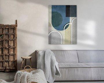Abstracte samenstelling 789 van Angel Estevez