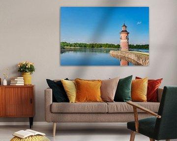 Der Leuchtturm in Moritzburg, Deutschland von Gunter Kirsch