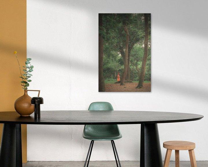 Sfeerimpressie: De monnik in de bomen van Edgar Bonnet-behar