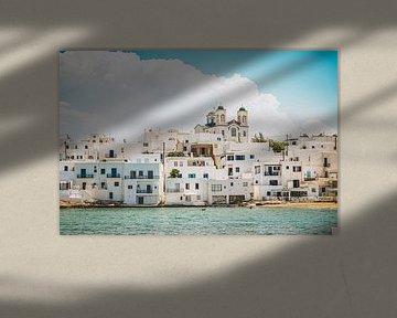 Den Blick auf Paros geniessen, Griechenland von Daphne Groeneveld