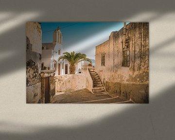 Naxos-Stadt (Chora) in Griechenland von Daphne Groeneveld
