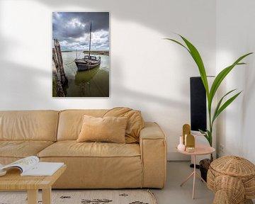 Het haventje van Laaksum van Frans Nijland
