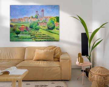 Nozzano Toskana Italien von Antonie van Gelder Beeldend kunstenaar