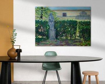 Toskanische Landschaft von Antonie van Gelder Beeldend kunstenaar