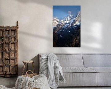 Zwitserse Alpen van Reto Meier