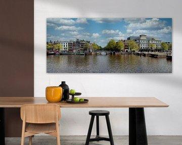 Panorama auf die Amstel von Foto Amsterdam / Peter Bartelings