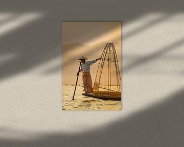 Trucs de pêcheur - Lac Inle sur Vincent Vink