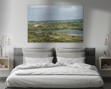 Landschap natuurgebied Zuid Kennemerland van Sander Jacobs