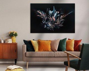 Natürlicher Schleier II (negativ) von Teis Albers
