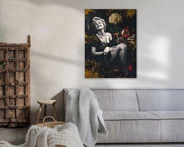 Marilyn Monroe Industrielle Retro von Helga fotosvanhelga