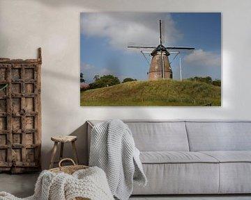Frielinkmolen/ Grobbenmöl/ Fleringermolen Overijssel van Klaas Leguit