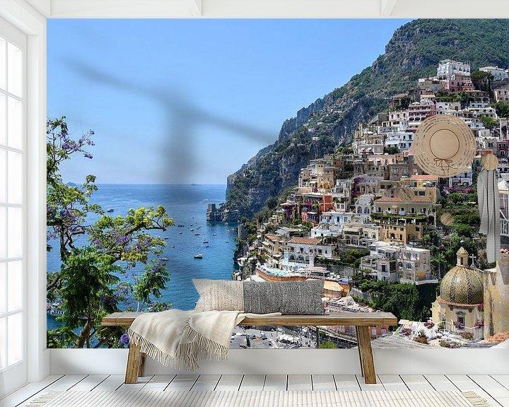 Beispiel fototapete: Positano - Amalfiküste von Markus Jerko