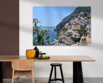 Positano - Amalfikust van Markus Jerko