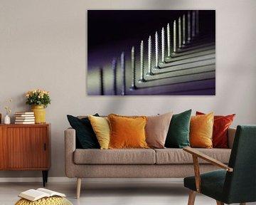 Schroeven abstract van Marcel Mombarg