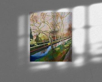 Frühling von Antonie van Gelder Beeldend kunstenaar