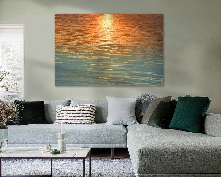 Beispiel: Sonnenuntergang am Meer von Markus Jerko