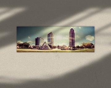 Frankfurt Messe Panorama von Frank Wächter