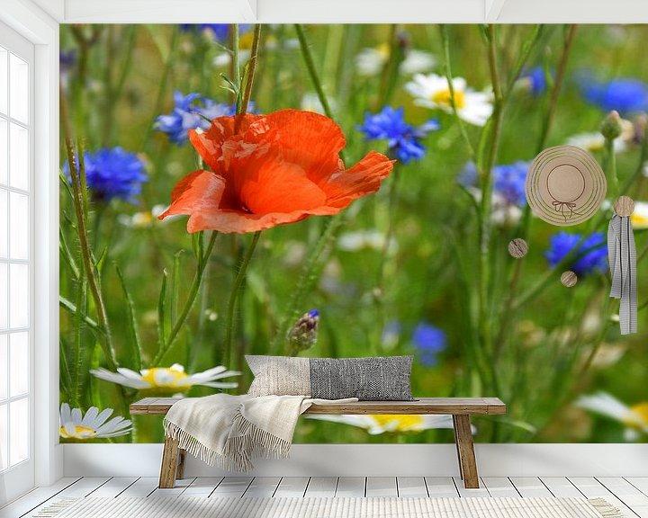 Beispiel fototapete: Blumenwiese von Markus Jerko