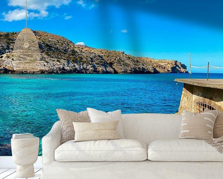 Beispiel fototapete: Mallorca - Cala Sant Vicenc von Marek Bednarek